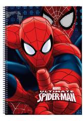 Quaderno A4 80 Fogli Spiderman