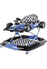 Girello Blu 3 in 1 Formula 1 Attività