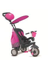 Triciclo Smart Trike Splash 5 en 1 Rose