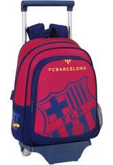 Mochila Infantil con Ruedas F.C. Barcelona