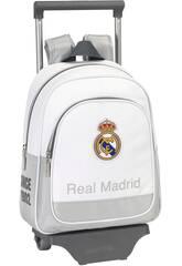 Mochila Infantil con Ruedas Real Madrid