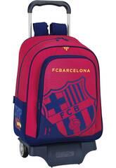 Zaino grande con Ruote F. C. Barcelona