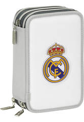 Plumier Triple 41 Pièces Real Madrid