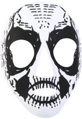 Mascara Katrina Blanca Negra