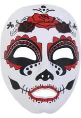 Mascara Katrina Blanca, Negra y Rosa