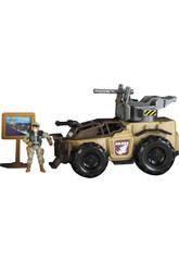 Soldier Force Véhicule Lance-Missile Avec Figurine