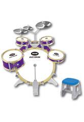 Bateria Jazz 5 Tambores y 3 Platillos