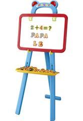 Materiale scolastico Lavagna educativa con lettere e numeri magnetici