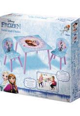 Frozen Mesa y Sillas