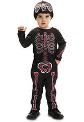 Disfraz L Bebé Esqueleto Día de Los Muertos