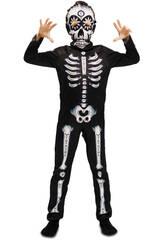 Disfraz S Niño Esqueleto Día de Los Muertos
