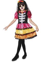 Disfraz Niña M Catrina Esqueleto
