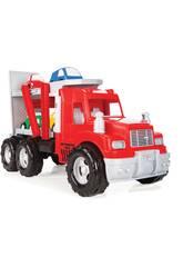 Mega Camião 56cm. Porta Carros Mak Transport Truck