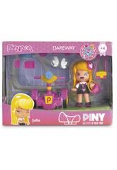 Pin y Pon Piny Dareway Figur 8cm Mit verschiedenen Accessoires Famosa 700012963