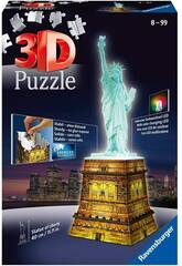 Puzle 3D Estatua de la Libertad con Luz Ravensburger 12596