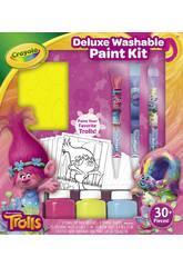 Trolls Kit Pittura Deluxe Crayola