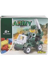 Véhicule Militaire avec Lance-roquettes de 35 pièces