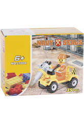 Veículo Construção com Perfuradora 36 peças