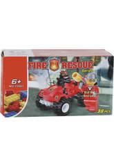 Quad des Pompiers 38 pièces