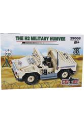 Juego de Construcción Vehículo Militar Humvee H2 195 Piezas