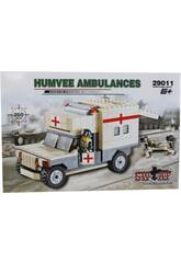 Gioco di costruzione Ambulanza Militare de 260 pezzi