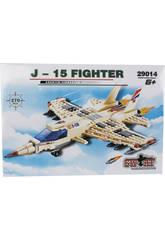 Juego de Construcción Avión Militar J-15 270 Piezas