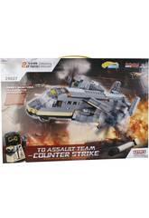 Bau Spiel Militär Transport Flugzeug 631 Stück