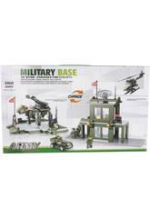 Jeu de Construction Base Militaire Transformable 425 Pièces