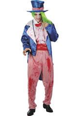 Costume Zio Sam Sanguinante Uomo XL