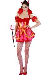 Disfraz Doncella Demonia Sexy Mujer Talla L