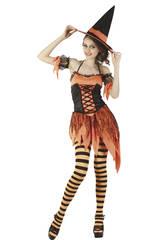 Bruxa traje halloween mulher tamanho xl