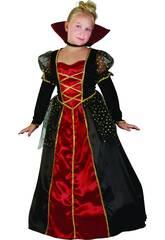 Disfraz Vampira Gótica de Niña Talla XL