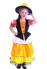 Kostüm Hexe Spinne Orange Baby Größe S