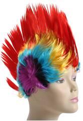 Peluca Punki Colores