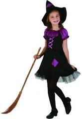 Costume Strega Lilla Bimba S
