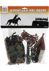 Figuras Oeste 42 Piezas