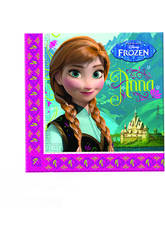 Frozen pack 20 servilletas 33x33 cm.