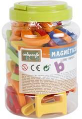 Magnetische Buchstaben und Zahlen 52 Teile