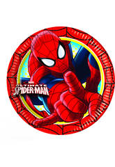 Spiderman pack 8 piatti 23 ml.