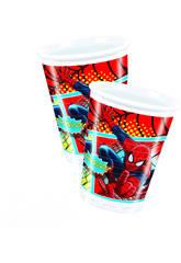 Spiderman pack 8 bicchieri 200 ml.