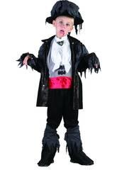 Disfraz Vampiro Zombi Niño Talla M