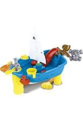 Barco Pirata 53 cm. Com Acessórios Praia 12 Peças