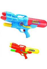 Pistola de agua 48 cm. Com bomba de ar