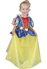Maschera Principessa delle Nevi Bebè Taglia M