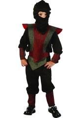 Disfraz Ninja Warrior Bebé Talla S