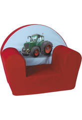 Fauteuil Tracteur rouge