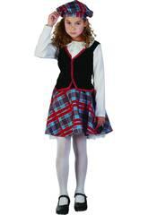 Déguisement Écossaise Fille Taille M