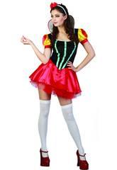 Kostüm Sexy Eisprinzessin Frau Größe XL