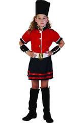 Maschera Guardia Bambina Taglia S