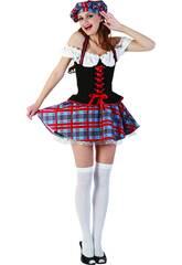 Kostüm Sexy Schottin Frau Größe XL